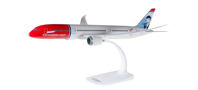 Norwegian - Boeing 787-9 (Herpa Snap-Fit 1:200)