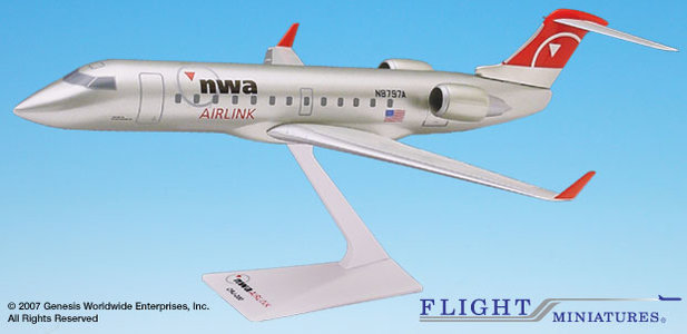 Northwest/Pinnacle - Bombardier CRJ200 (Flight Miniatures 1:100)