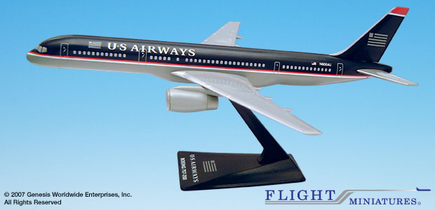 US Airways - Boeing 757-200 (Flight Miniatures 1:200)