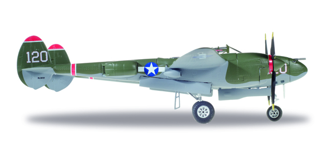 U.S. Army Air Forces (USAAF) - Lockheed P-38L Lightning (Herpa Wings 1:72)