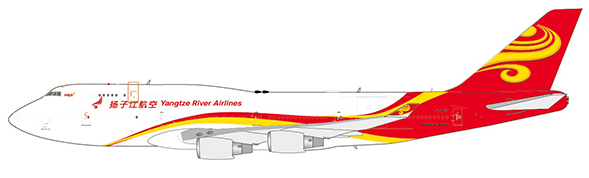 Yangtze River Airlines - Boeing 747-400(BDSF) (JC Wings 1:400)