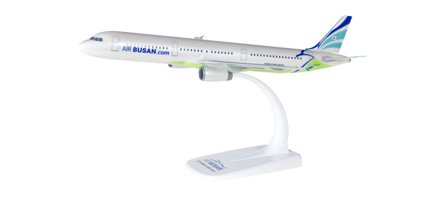 Air Busan - Airbus A321 (Herpa Snap-Fit 1:200)