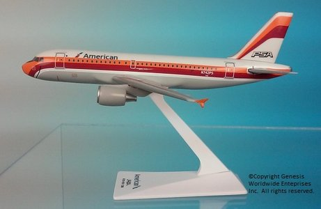 American/PSA - Airbus A319 (Flight Miniatures 1:200)