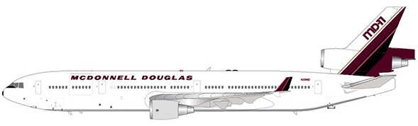 House Color - White - McDonnell Douglas MD-11 (JC Wings 1:400)