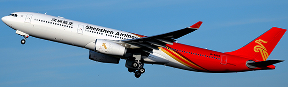 Shenzhen Airlines - Airbus A330-300 (JC Wings 1:400)