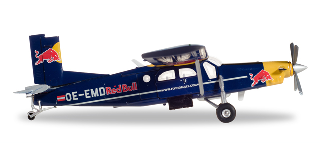 The Flying Bulls - Pilatus PC-6 Turbo Porter (Herpa Wings 1:72)