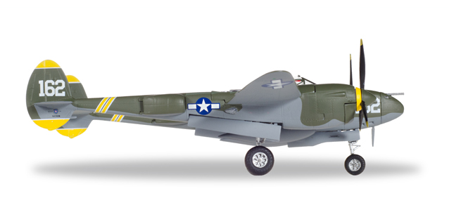 U.S. Army Air Forces (USAAF) - Lockheed P-38J Lightning (Herpa Wings 1:72)