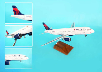 Delta Air Lines (USA) - Airbus A320-200 (Skymarks 1:100)
