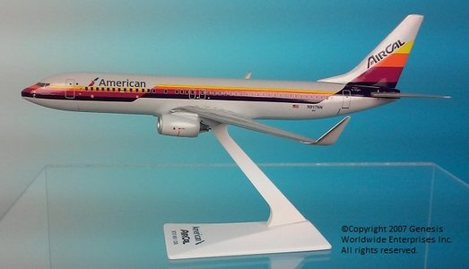 American/Air Cal - Boeing 737-800 (Flight Miniatures 1:200)