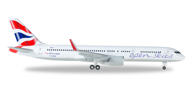 British Airways - Boeing 757-200 (Herpa Wings 1:500)