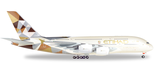 Etihad Airways - Airbus A380-800 (Herpa Wings 1:200)