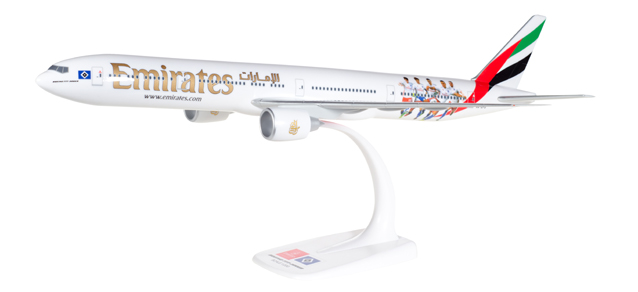 Emirates - Boeing 777-300ER (Herpa Snap-Fit 1:200)