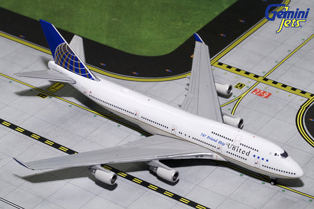United Airlines - Boeing 747-400 (GeminiJets 1:400)