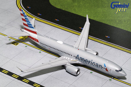 American Airlines - Boeing 737 MAX 8 (GeminiJets 1:200)