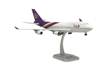 Thai International (Thailand) - Boeing 747-400 (Hogan 1:200)