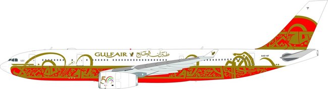 Gulf Air - Airbus A330-200 (B Models 1:200)