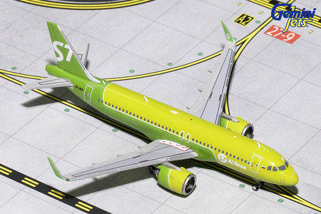 S7 Airlines - Airbus A320neo (GeminiJets 1:400)