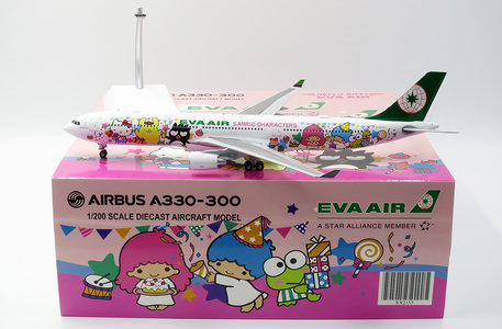Eva Air - Airbus A330-300 (JC Wings 1:200)