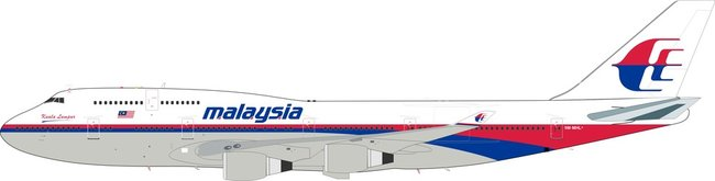 Malaysia Airlines - Boeing 747-4H6M (Inflight200 1:200)