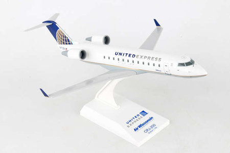 United Airlines Post CO Merger - Bombardier CRJ200 (Skymarks 1:100)