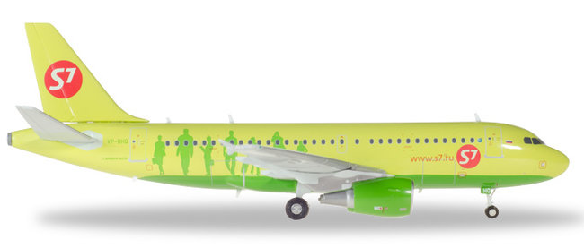 S7 Airlines - Airbus A319 (Herpa Wings 1:200)