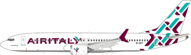 Air Italy - Boeing 737-8 Max (Inflight200 1:200)