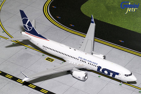 LOT Polish Airlines - Boeing 737 MAX 8 (GeminiJets 1:200)