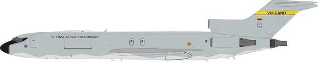 Colombia Air Force - Boeing 727-200 (Inflight200 1:200)