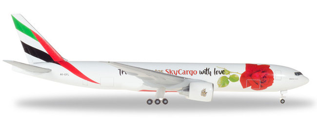 Emirates - Boeing 777F (Herpa Wings 1:500)