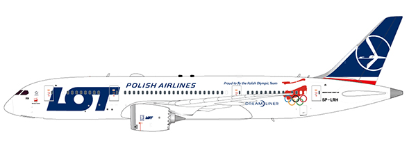 LOT Polish Airlines - Boeing 787-8 (JC Wings 1:200)