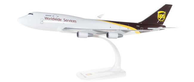 UPS Airlines - Boeing 747-400F (Herpa Snap-Fit 1:250)
