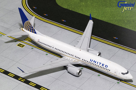 United Airlines - Boeing 737 MAX 9 (GeminiJets 1:200)