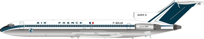 Air France - Boeing 727-200 (B Models 1:200)