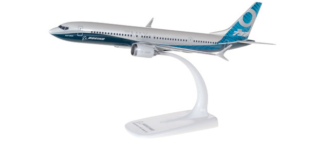 Boeing House Colors - Boeing  737 MAX 9 (Herpa Snap-Fit 1:200)