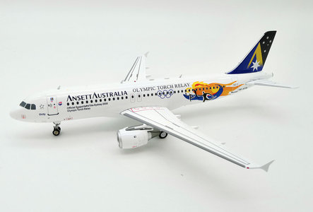Ansett Australia Airlines - Airbus A320-200 (Inflight200 1:200)