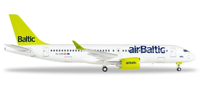 Air Baltic - Bombardier CS300 (Herpa Wings 1:200)