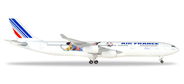 Air France - Airbus A340-300 (Herpa Wings 1:500)