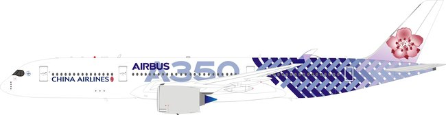 China Airlines - Airbus A350-900 (B Models 1:200)