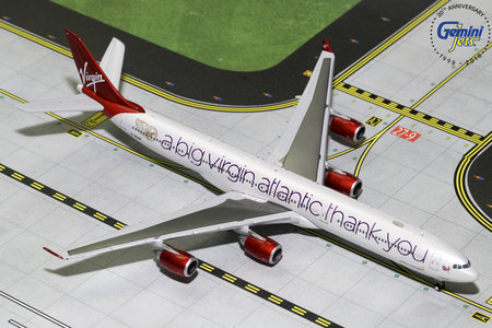Virgin Atlantic Airways - Airbus A340-600 (GeminiJets 1:400)