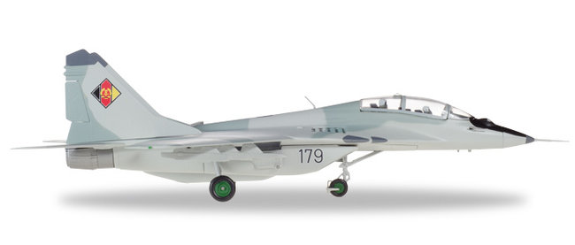 NVA/LSK JG3 East German Air Force - MiG-29UB (Herpa Wings 1:72)