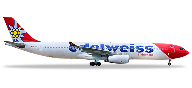 Edelweiss Air - Airbus A330-300 (Herpa Wings 1:200)