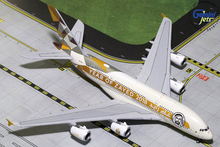 Etihad Airways - Airbus A380-800 (GeminiJets 1:400)