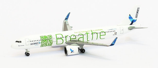 Azores Airlines - Airbus A321neo (Herpa Wings 1:500)