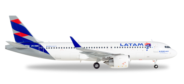 LATAM - Airbus A320neo (Herpa Wings 1:200)