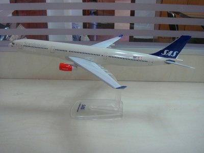 SAS Scandinavian Airlines - Airbus A330-300 (Herpa Snap-Fit 1:200)