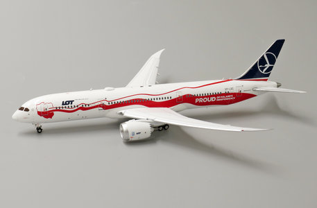 LOT Polish Airlines - Boeing 787-9 (JC Wings 1:400)