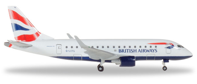 British Airways Cityflyer - Embraer E170 (Herpa Wings 1:500)
