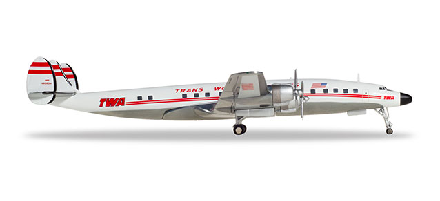 TWA - Trans World Airlines - Lockheed L-1649A Starliner (Herpa Wings 1:200)