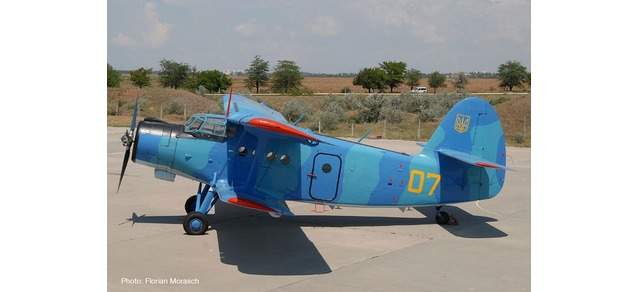Ukrainian Navy - Naval Aviation Sqd - Antonov AN-2 (Herpa Wings 1:200)