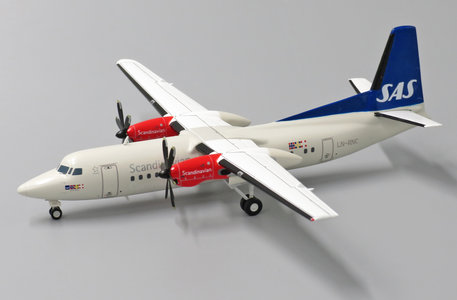 Scandinavian Airlines - Fokker 50 (JC Wings 1:200)